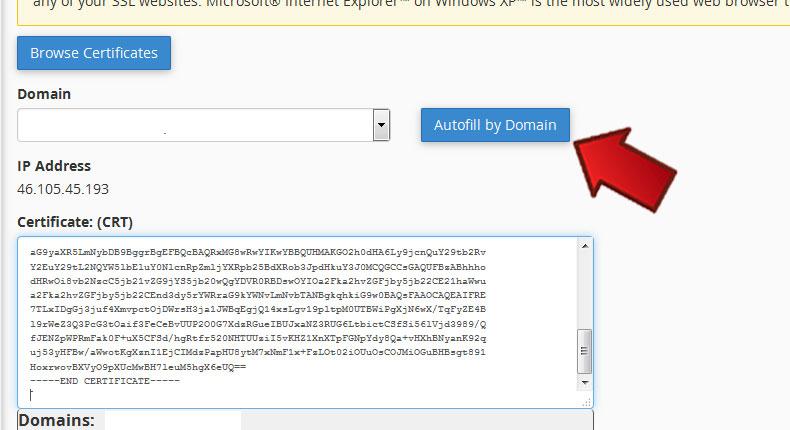 آموزش نصب SSL بر روی Cpanel