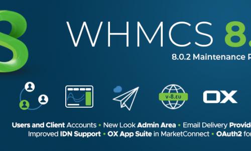 دانلود whmcs 8.0.2  نال شده | تست شده سالم | بدون لایسنس